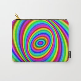 Rainbow Hypnosis Carry-All Pouch