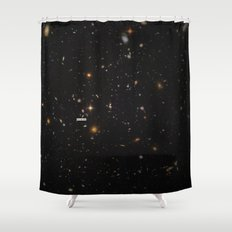 THE UNIVERSE - Space | Time | Stars | Galaxies | Science | Planets | Past | Love | Design Shower Curtain