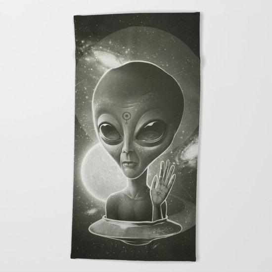 Alien II Beach Towel