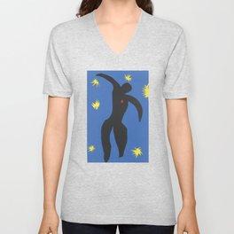 Henri Matisse, Icarus (Icare) from Jazz Collection, 1947, Artwork, Men, Women, Youth Unisex V-Neck