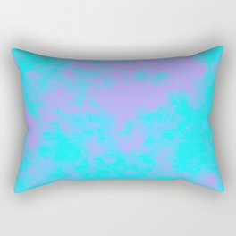 Cotton Candy Clouds - Purple & Blue Rectangular Pillow