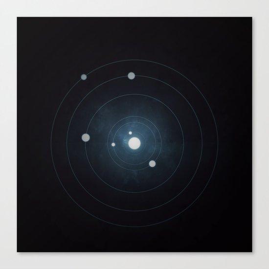 Star System Canvas Print