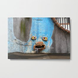 Faces of the Hundertwasserhaus Metal Print
