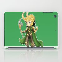 loki iPad Cases featuring Loki by Tiffany Willis