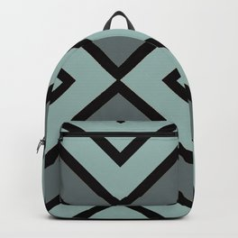VooDoo Gray with Black Stripes Backpack