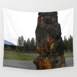 The magickal bear... Wall Tapestry