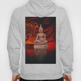 Buddha on a Lake of Fire and Water Hoody