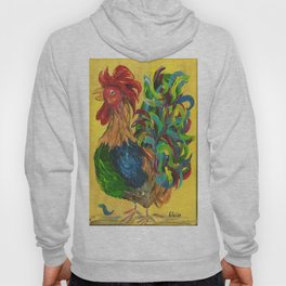 Plucky Rooster Hoody