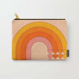 Sweetheart Rainbow Carry-All Pouch