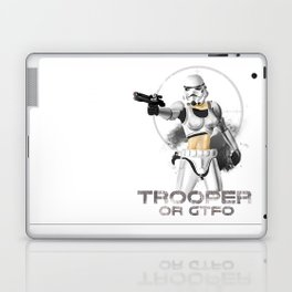 Trooper or gtfo Laptop & iPad Skin