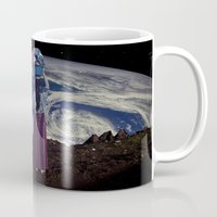 planet of the apes Mugs featuring Planet by Cs025