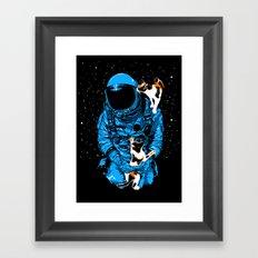 Astrocats Framed Art Print