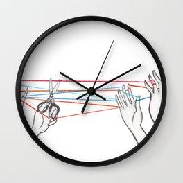 String Games Wall Clock