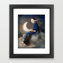 Kingdom of Clouds Framed Art Print