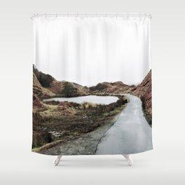 Road through Fairy Glen Shower Curtain
