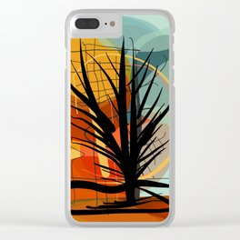 The Tree of Love and Life Clear iPhone Case