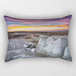 The Painted Mines Rectangular Pillow