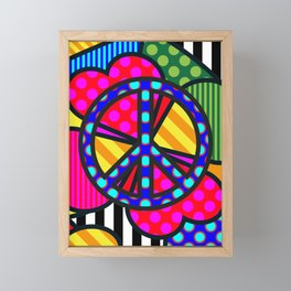Lucky Peace Framed Mini Art Print
