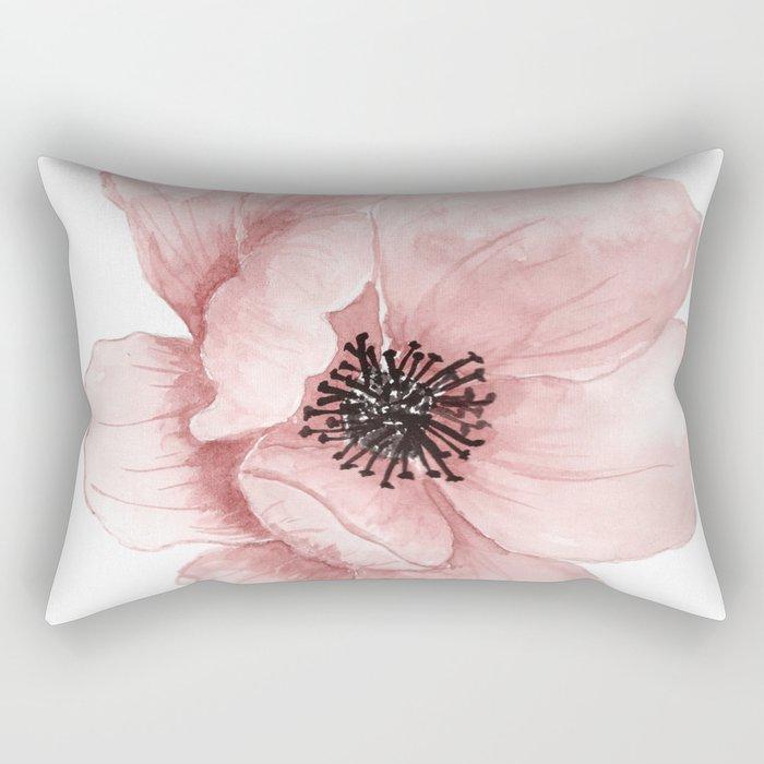 Flower 21 Art Rectangular Pillow