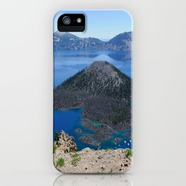 Crater Lake Volcanic Crater Oregon USA iPhone Case