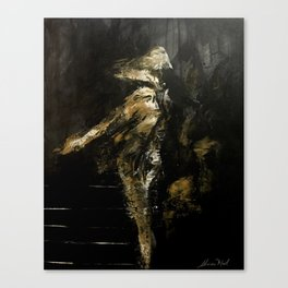 Dancing in the loneliness Canvas Print