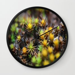 Weeds Wall Clock