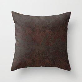 Rustic Metal Throw Pillow
