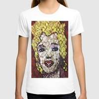 marylin monroe T-shirts featuring MARYLIN MONROE by JANUARY FROST
