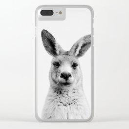 Mr. Kangaroo Clear iPhone Case