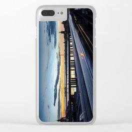 Stockholm Night - Slussen Clear iPhone Case