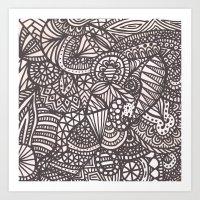 Doodle 10 Art Print