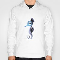seahorse Hoodies featuring Seahorse by Heidy Curbelo