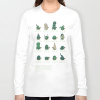 study Long Sleeve T-shirts featuring A Study of Turtles by Hector Mansilla