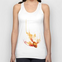goldfish Tank Tops featuring GoldFish by Carlos Asensi