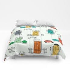 Doors doodles Comforters