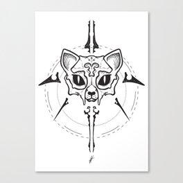 THE SPHINKZ Lineart Canvas Print