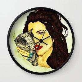 Lana for RollingStone Magazine Wall Clock