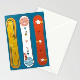 SNOWBOARD DESIGN Stationery Cards