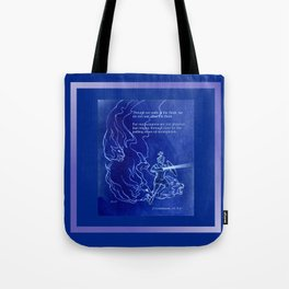 Warrior 3 With Heavenly Host Tote Bag