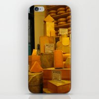 cheese iPhone & iPod Skins featuring Cheese! by AuFish92024
