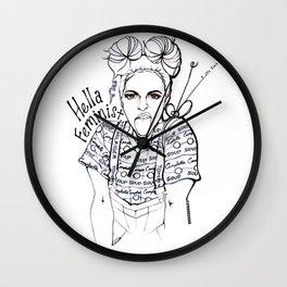 #STUKGIRL EMMA Wall Clock
