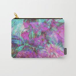 Tye-Dye Abstract Carry-All Pouch