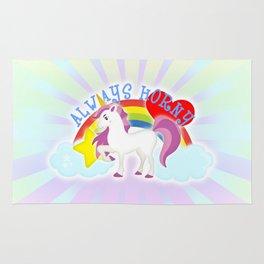 Unicorns are Always Horny Rug