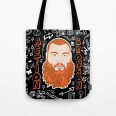 Action Bronson Portrait Tote Bag