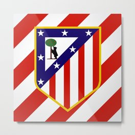 Atletico Madrid Metal Print