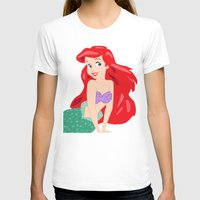 ariel T-shirts featuring Ariel by Lauren Lee Design's