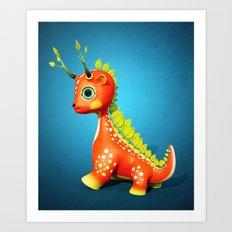 The Leaf Dragon Art Print