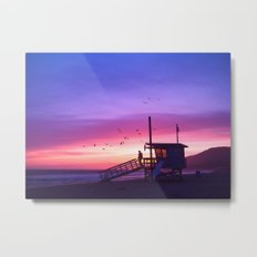 Sunset Tower Metal Print