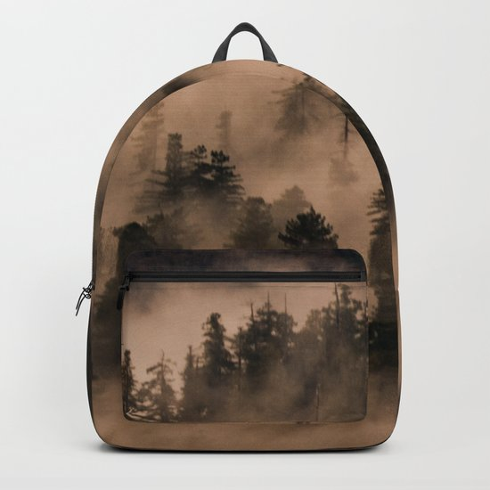 I Just Found Heaven Foggy Forest Backpack