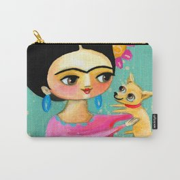 Sweet Chihuahua dog Carry-All Pouch